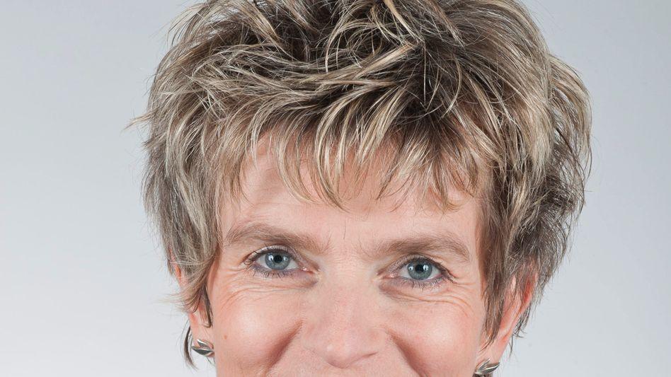 Mächtigste Arbeitnehmervertreterin im Land: Siemens-Betriebsrätin Birgit Steinborn, hier noch mit freundlichem Lächeln