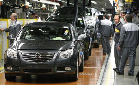 Produktion des Insignia in Rüsselsheim: Opel gewinnt Marktanteile mit dem neuen Mittelklassemodell