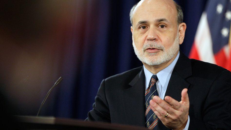 Federal-Reserve-Chef Ben Bernanke: Kurze, neue Klarstellung bringt wenig Klarheit