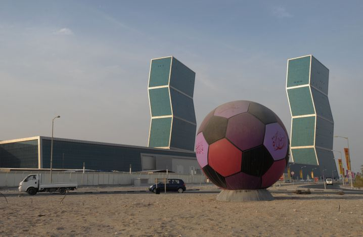 Doha in Katar: Aus dem Emirat fließt viel Geld nach London