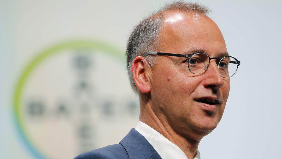 Bayer-Chef Baumann hält die Abschläge an der Börse für übertrieben