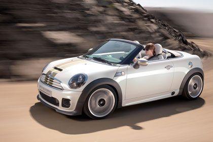Fahrspaß unter freiem Himmel: Der neue Mini Roadster soll spätestens 2012 bei den Händlern stehen