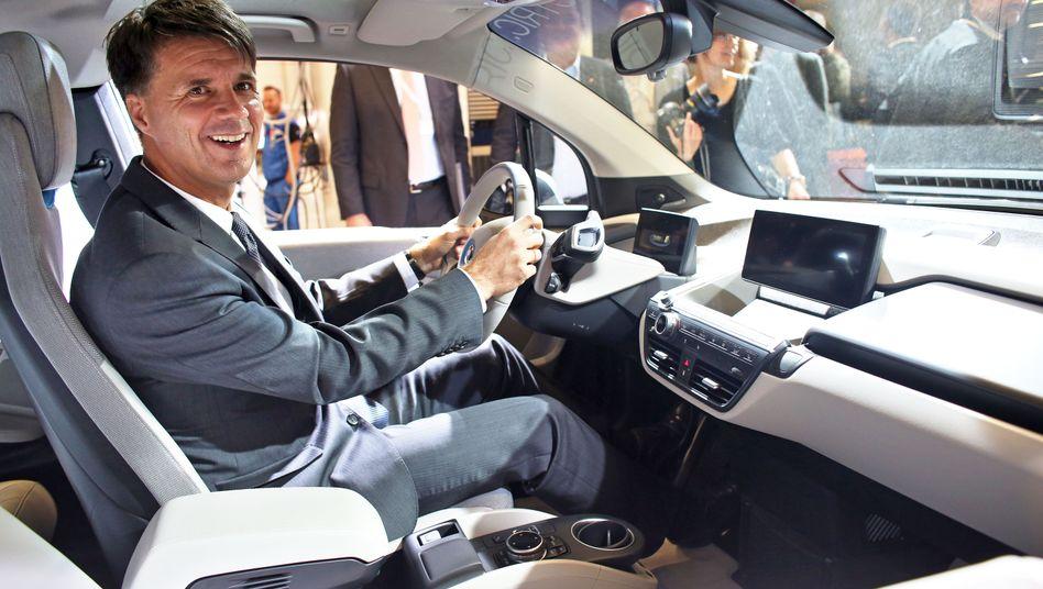 Der neue Lenker: Produktionsvorstand Harald Krüger soll im Mai BMW-Chef Norbert Reithofer beerben