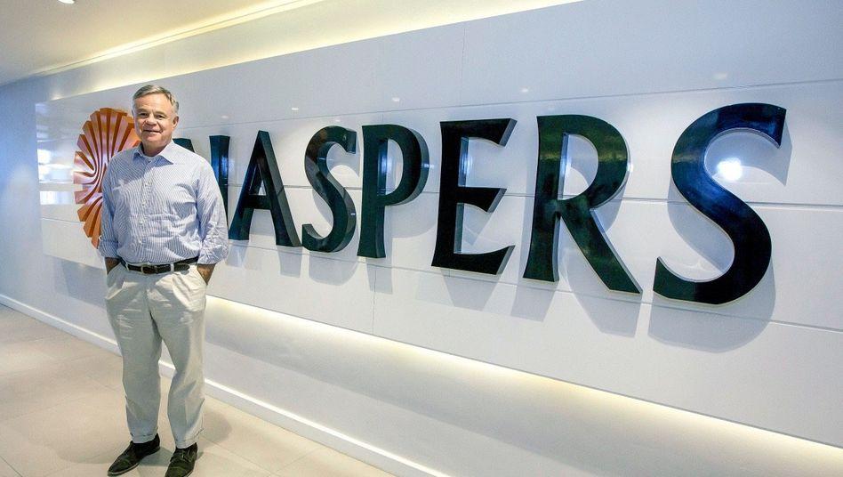 BINGO Der Naspers-Chef Koos Bekker setzte 2001 auf Tencent – und gewann