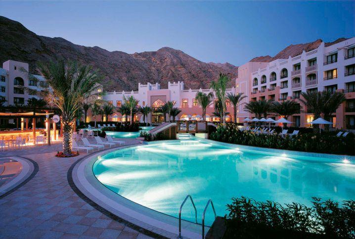 Shangri-Lah's Barr Al Jissah Resort, Maskat