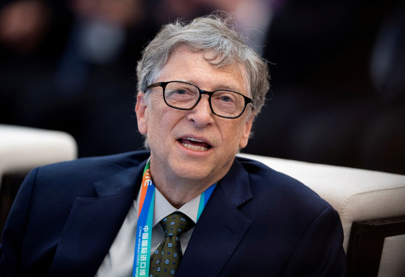 FILE PHOTO: Microsoft co-founder Bill Gates attends a forum in Shanghai