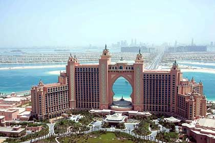 Der Boom hat ein Ende: Das Atlantis-The-Palm-Hotel in Dubai