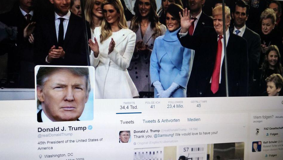 Twitter: Trumps wichtigstes Regierungsinstrument