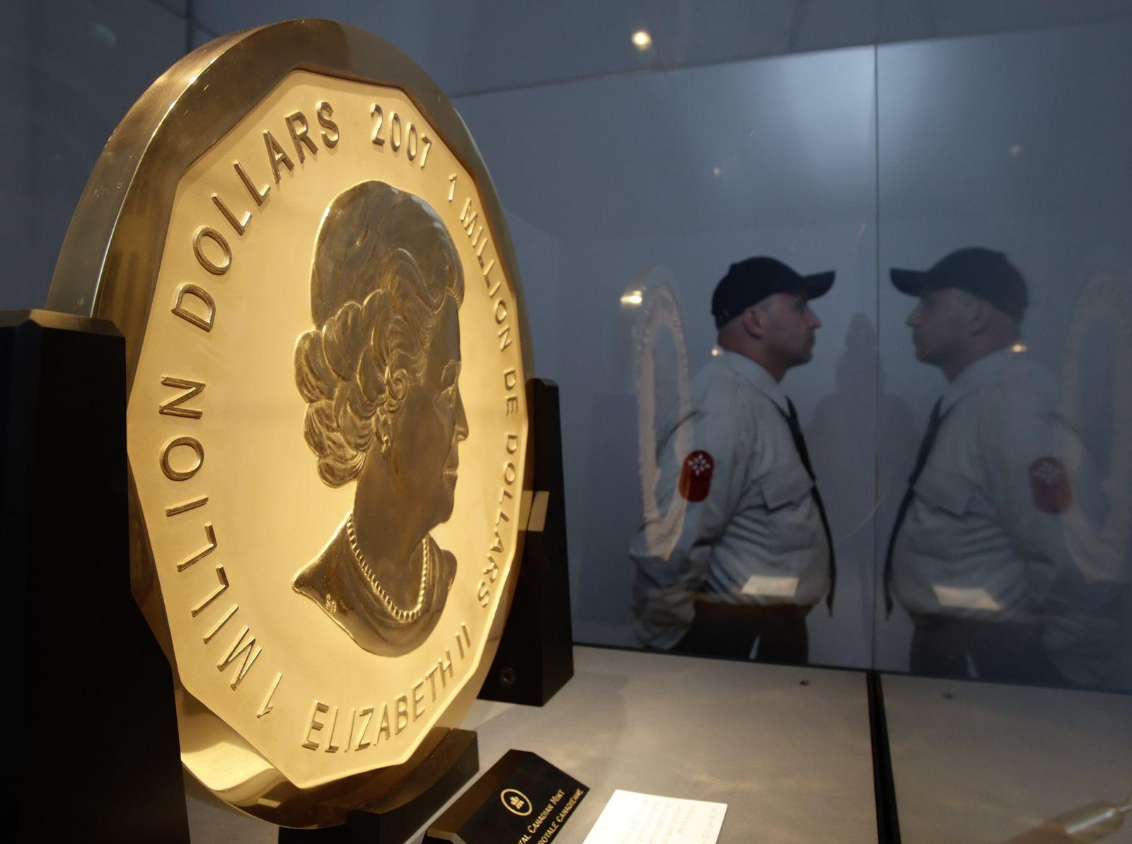 Maple Leaf / Auktion / Weltgrößte Goldmünze
