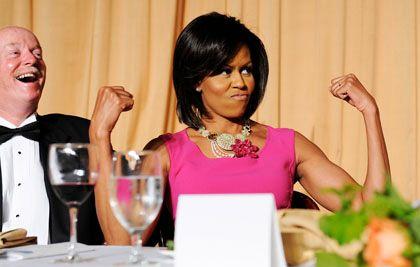 """First Lady Michelle Obama: """"Ein großartiges Vorbild"""""""
