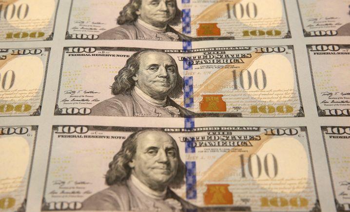 Immer mehr wert: Der US-Dollar.