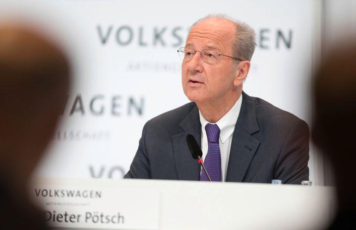 Nicht unumstritten: Noch-Finanzvorstand Hans Dieter Pötsch soll VW-Aufsichtsratschef werden, das Amtsgericht Braunschweig ebnete jetzt dafür den Weg