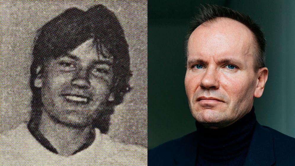 Vom Mädchenschwarm zum Machtmensch: In der Oberstufe wählen Mitschülerinnen Markus Braun einst zum bestaussehenden Jungen (links ein Foto aus der Schülerzeitung). Viele Jahre später erkaufte er sich in Österreich politischen Einfluss und unterstützte die ÖVP.