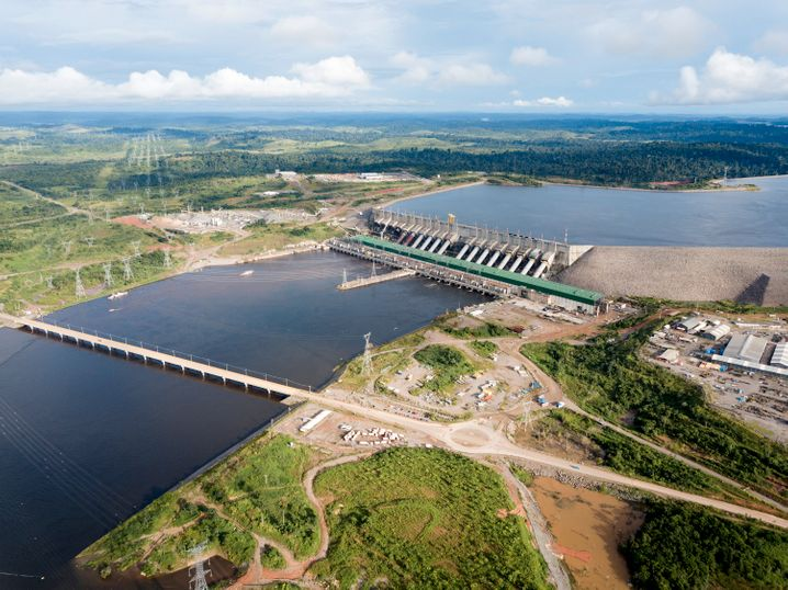 Wasserkraftwerk Belo Monte des Staatskonzerns Eletrobras