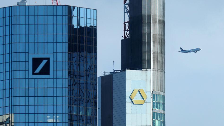 Bankenviertel in Frankfurt: Ein einheitlicher Bankenmarkt für 500 Millionen Menschen hilft am Ende auch dem deutschen Sparer