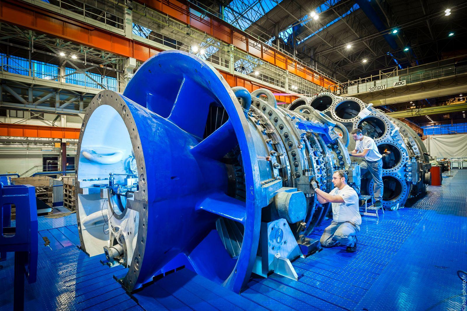 EINMALIGE VERWENDUNG Gas Turbine / GE