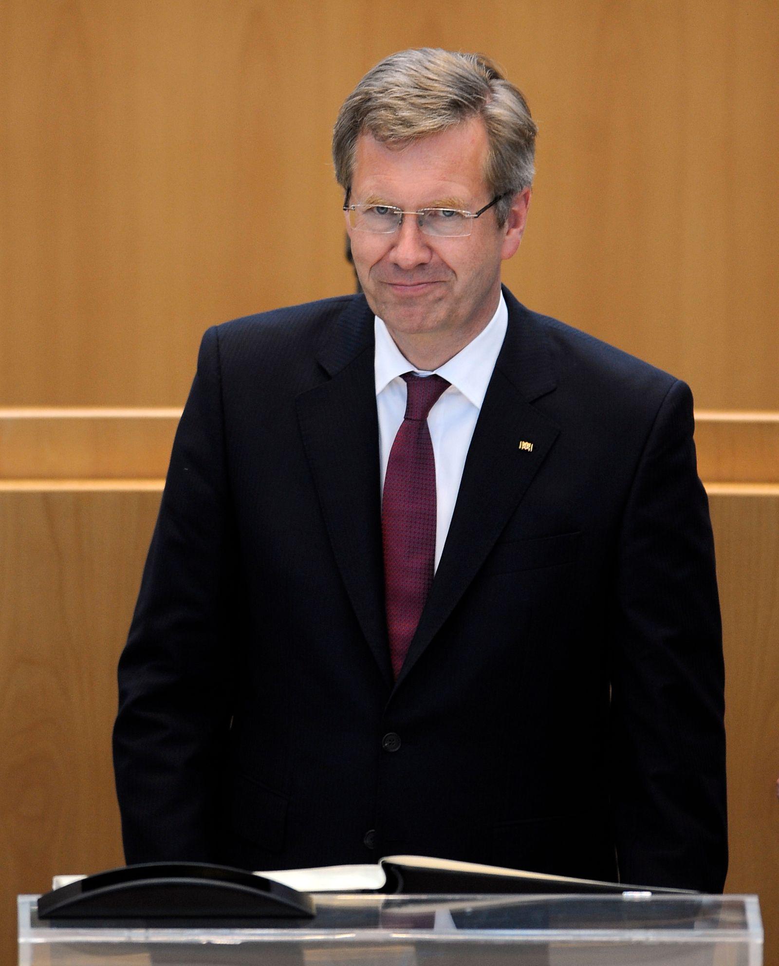 NICHT VERWENDEN Christian Wulff / NRW Landtag