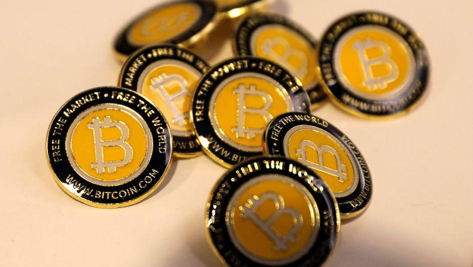 Bitcoin-Münzen: Der Kurs ist seit Ende 2018 um 130 Prozent gestiegen