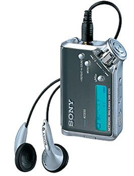 Sonys erster MP3-Player: Sony NW-E95