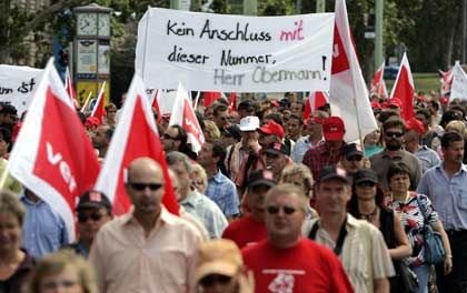 Mitarbeiter-Demo: Nach fünf Streikwochen ein Ergebnis bei der Telekom?