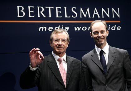 Bertelsmann: Konzernchef Thielen und Finanzchef Rabe stellen mehr Geld für Investitionen zur Verfügung