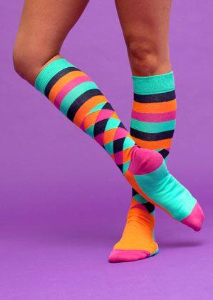 Für die ganz Mutigen: Die schwedische Sockenfirma Happy Socks hat sich auf ausgefallene Männermodelle kapriziert