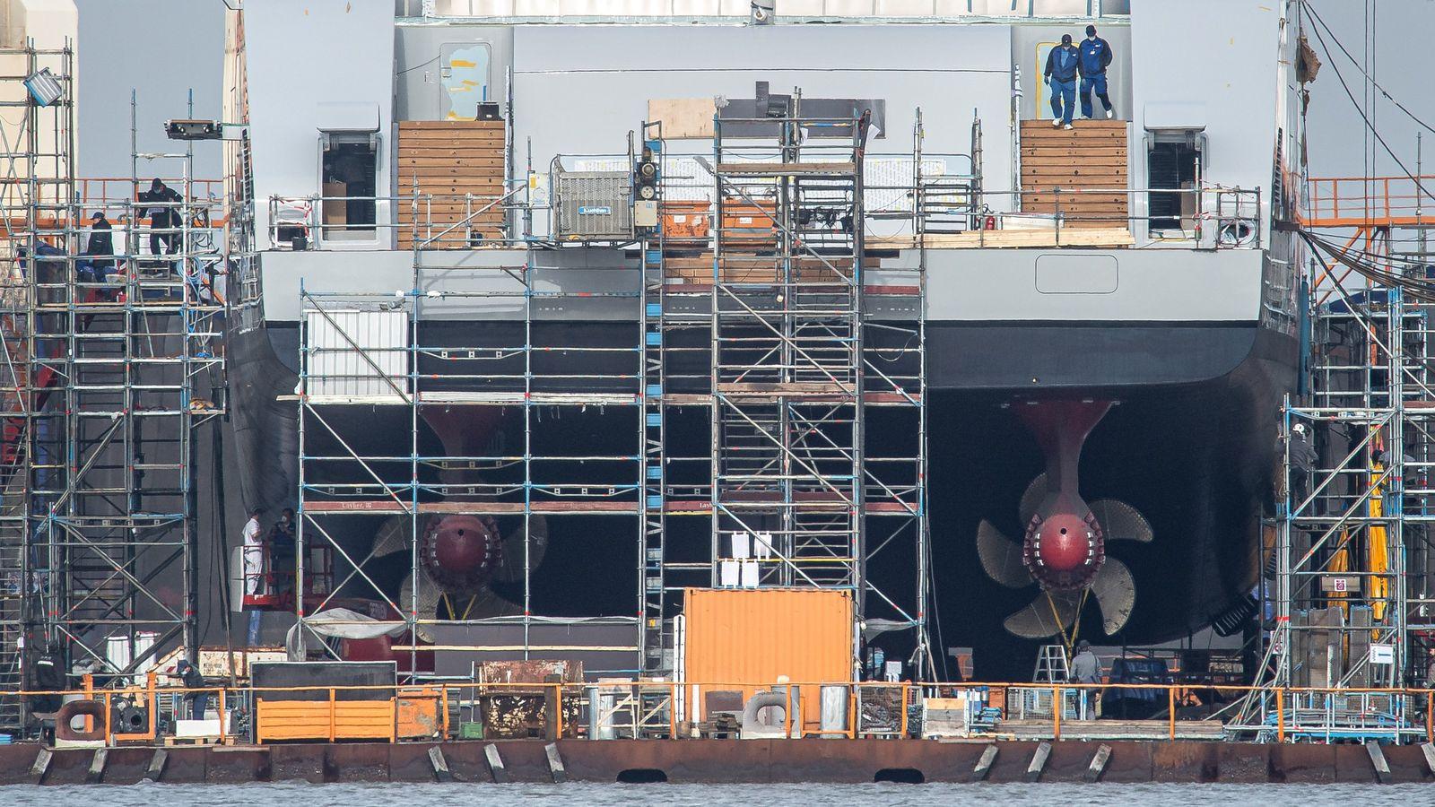 Lloyd-Werft vor Schließung