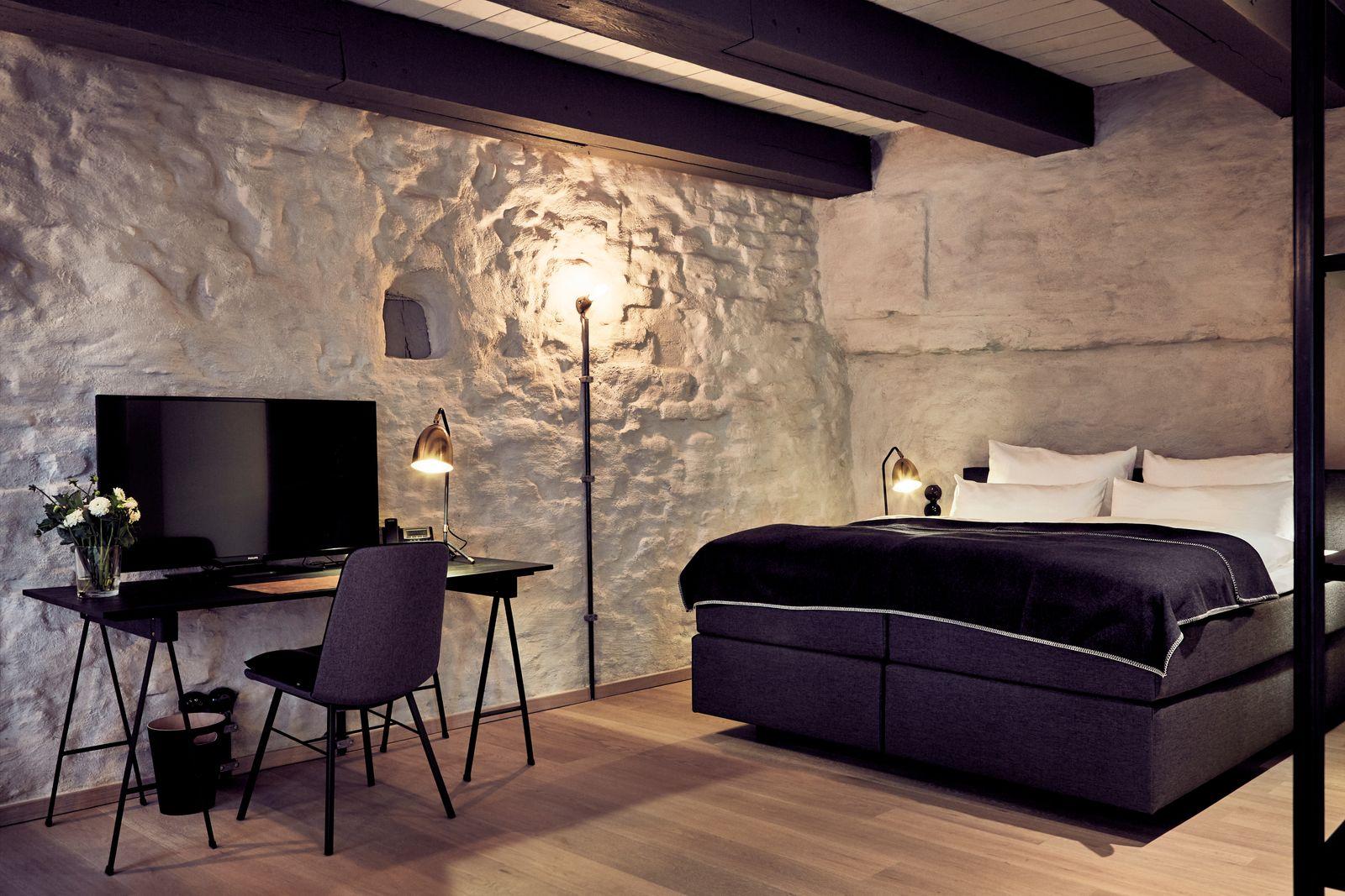 Fishers Loft Hotel / Zimmer