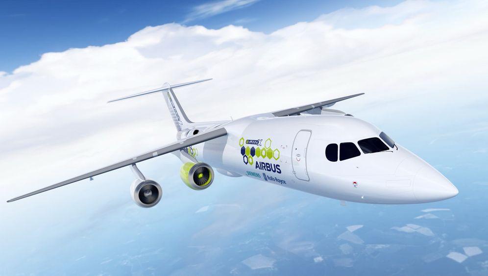 Mit Technik von Siemens und Rolls-Royce: So funktioniert der Hybrid-Airbus