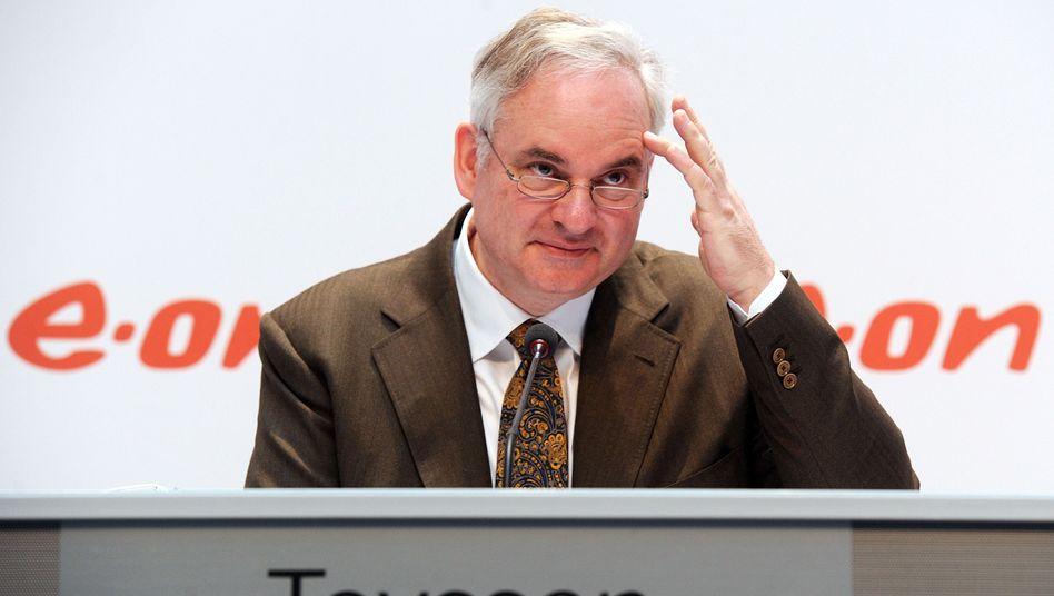 Verkaufen, umsteuern, schrumpfen: Eon-Chef Teyssen muss mit der deutschen Energiewende klarkommen