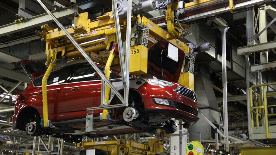Ford: Der Autohersteller plant an seinem zweitgrößten deutschen Produktionsstandort in Saarlouis einen Jobabbau