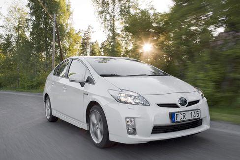 Hohe Nachfrage: Der Hybridwagen Prius von Toyota ist beliebt