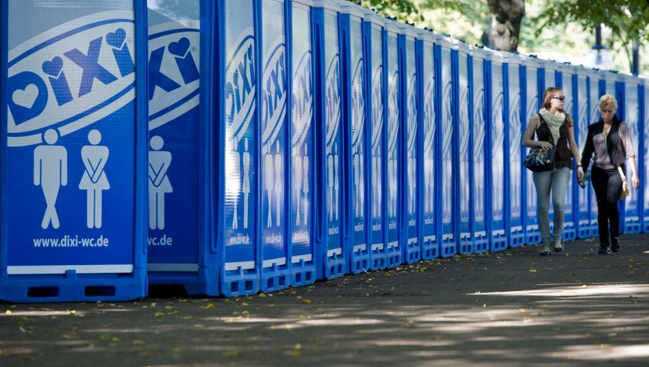 Adco: Der Hersteller von Dixi- und Toi-Toi-Toiletten wird Finanzkreisen zufolge mit rund 800 Millionen Euro bewertet