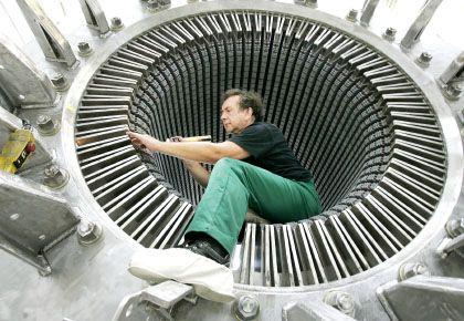 Auftragseinbruch: Allein im Januar gingen die Aufträge im Maschinenbau um 42 Prozent zurück