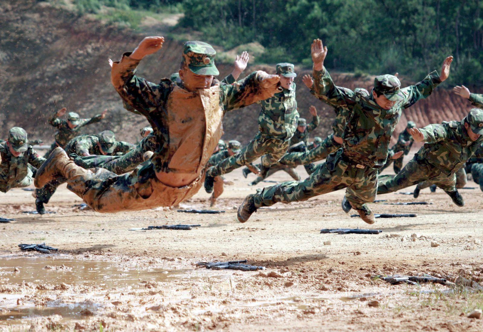 Militärübung in China