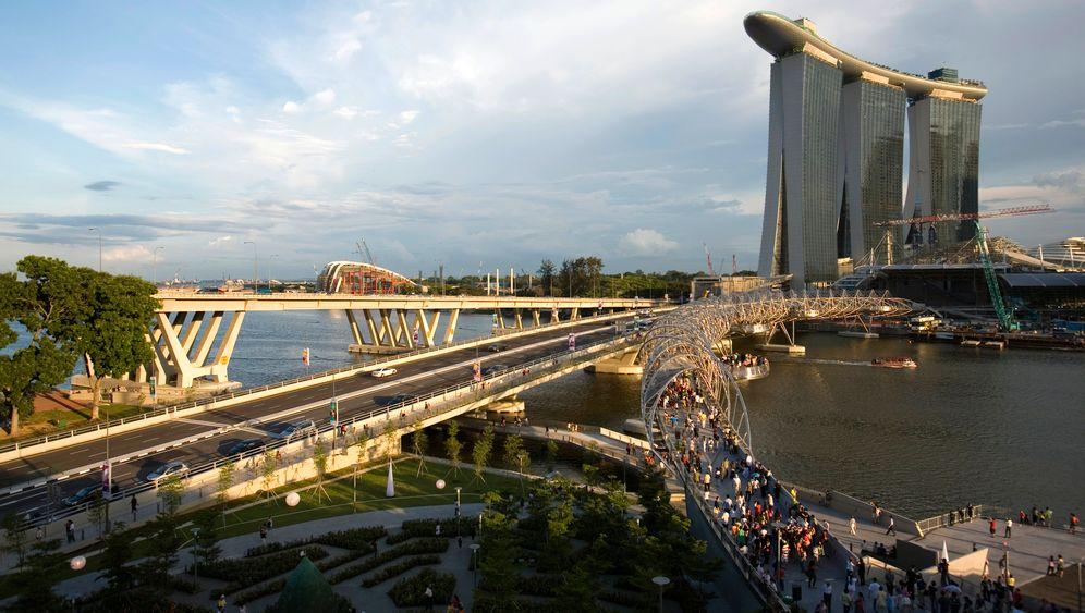 Marina Bay Sands: Spielhölle und Wellnessparadies