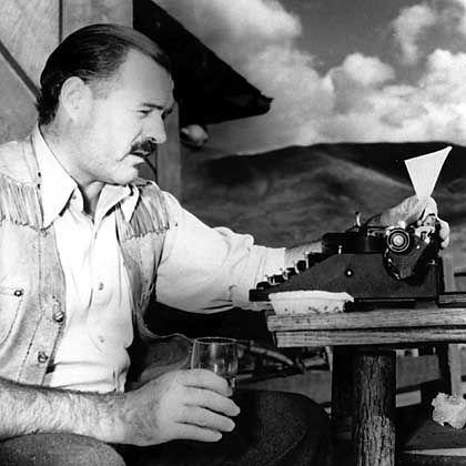 Großschriftsteller und Kneipengänger: Mojito-Liebhaber Hemingway