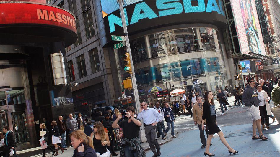 Nasdaq: Techfirmen, die viel investieren müssen, profitieren von der Nullzinspolitik