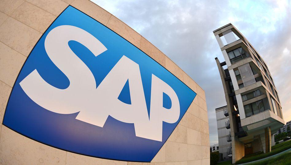 Walldorfer Konzern: Das Cloud-Geschäft geht zulasten der Software-Lizenzen