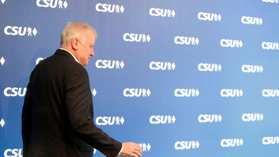 Horst Seehofer: Rücktritt angeboten