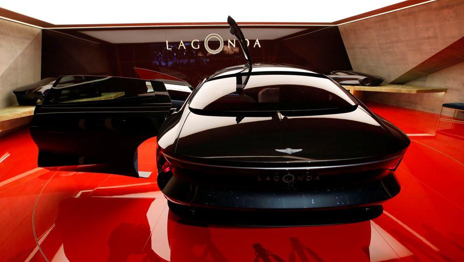 Große Entwürfe, wenig Kapital: Konzeptauto Aston Martin Lagonda Vision auf dem Genfer Autosalon 2018