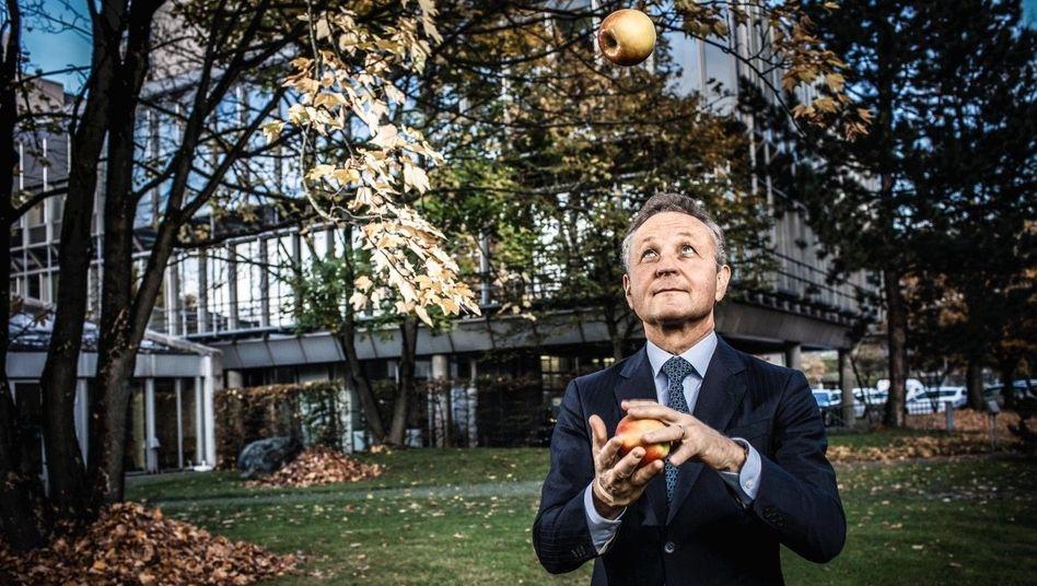 Global Obstplayer: Vorstandschef Klaus Josef Lutz machte Baywa zu einem globalen Agrarhändler, doch die Profitabilität halbierte sich, der Marktwert stagniert.