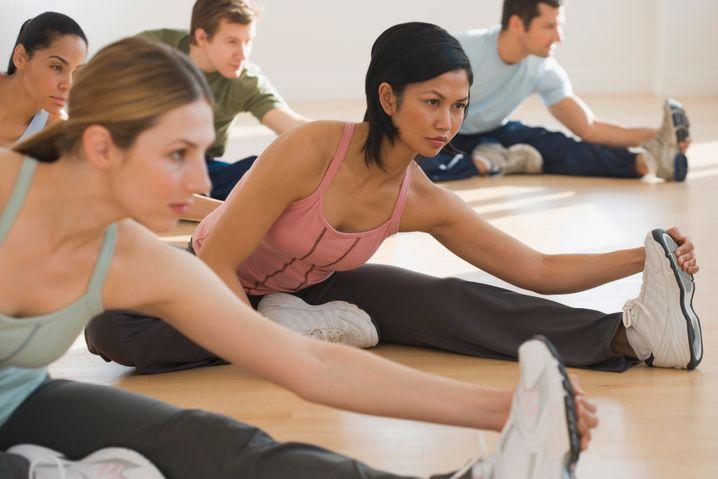 Stretching: Ein steuerfreier Zuschuss ist möglich, falls das Programm im Betrieb stattfindet