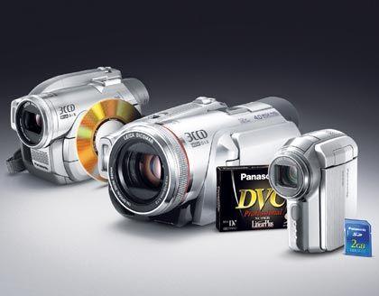 Panasonic DVD Mini-DV SD: Ein Camcorder für jeden Speichertyp
