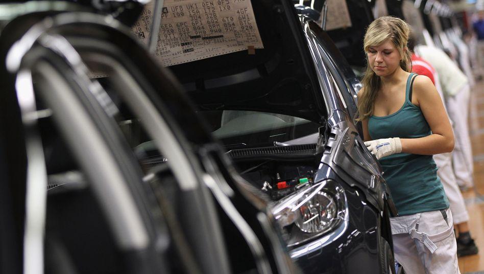 Produktion (noch) nicht gefährdet: Volkswagen hat aber eine Expertengruppe eingesetzt, die täglich die Lieferkette des Konzerns überprüft