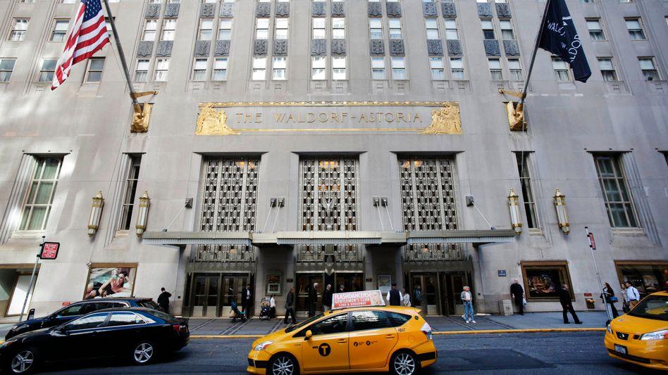 Waldorf Astoria in New York: Auch hier griff Anbang zu