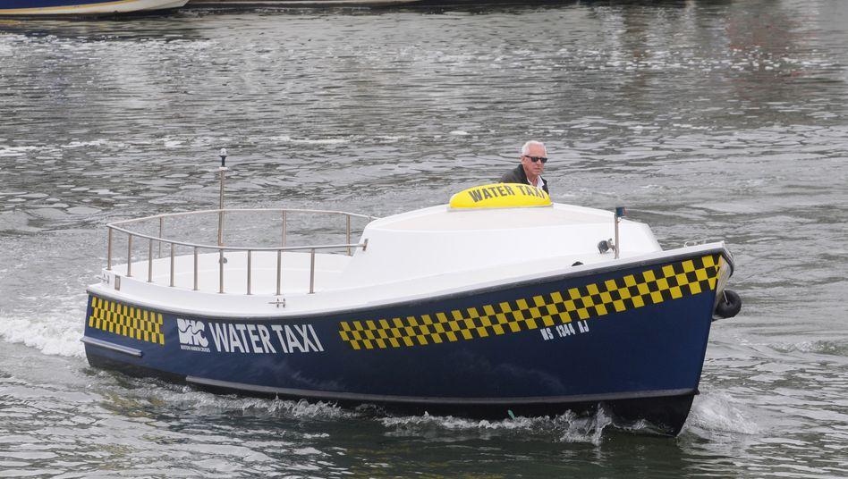 Nur einen Smartphone-Anruf entfernt: Ubers neues Wassertaxi in Boston
