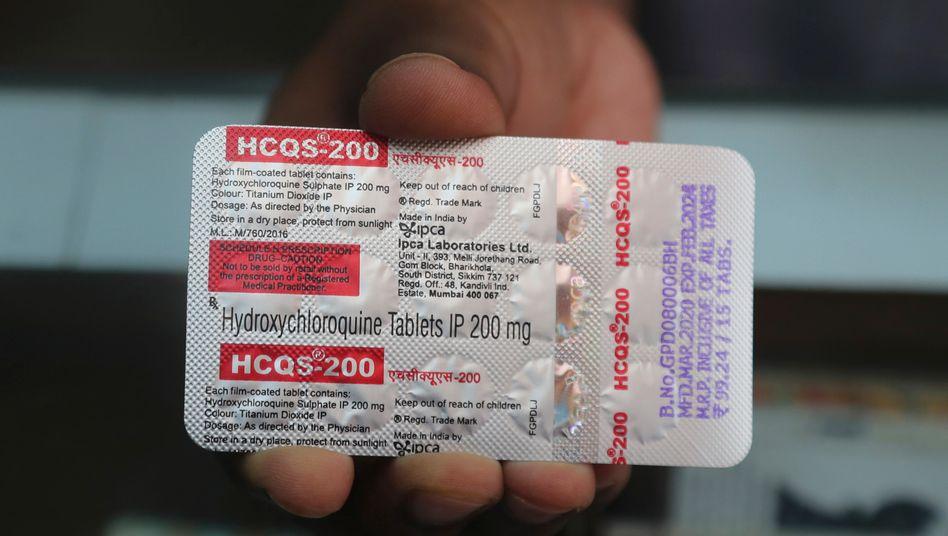 Das Medikament Hydroxychloroquin senkt die Sterblichkeitsrate von Covid-19-Patienten nicht, sind Forscher der WHO überzeugt