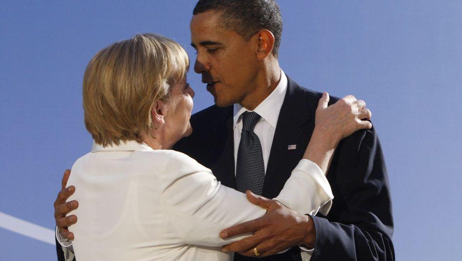 Einig in der Syrien-Frage: Kanzlerin Merkel und US-Präsident Obama