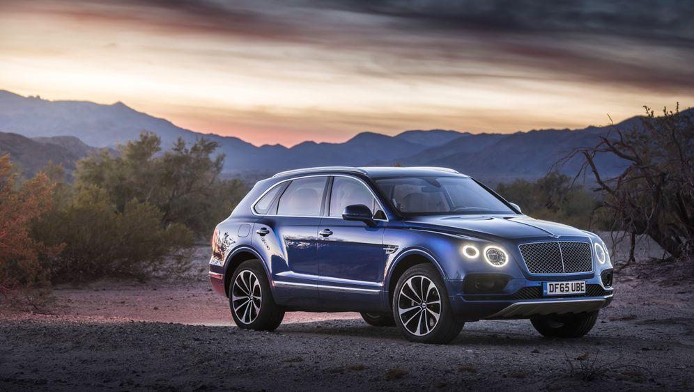 Testfahrt im Bentley Bentayga: Der rasende Riese